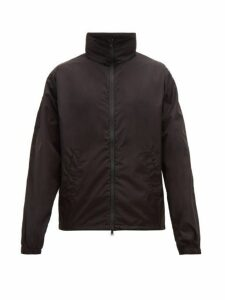 Wardrobe. nyc - Detachable Hood Windbreaker Jacket - Mens - Black