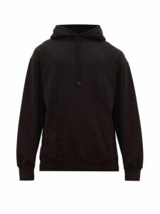 Wardrobe. nyc - Oversized Hooded Cotton Jersey Sweatshirt - Mens - Black