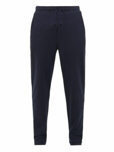 Hamilton And Hare - Timeout Cotton Piqué Track Pants - Mens - Navy