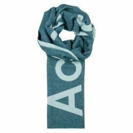 Acne Studios Toronto Logo-intarsia Wool-blend Scarf