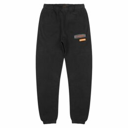 Heron Preston Uniform Black Cotton Sweatpants