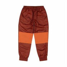 Kenzo Rust Panelled Shell Sweatpants