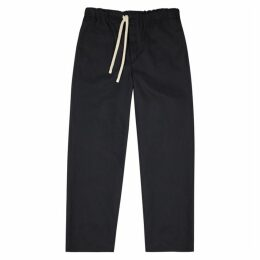 Loewe Navy Cotton-blend Trousers