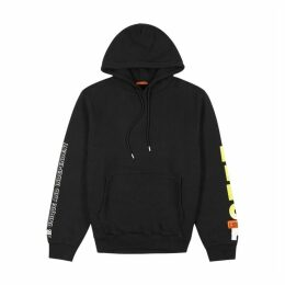 Heron Preston Black Printed Cotton Sweatshirt