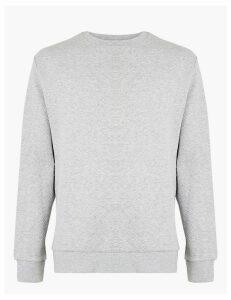 Autograph Supima Cotton Crew Neck Sweatshirt
