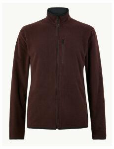 M&S Collection Zipped Through Fleece Jacket