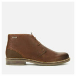 Barbour Men's Readhead Leather Chukka Boots - Dark Brown - UK 11 - Tan