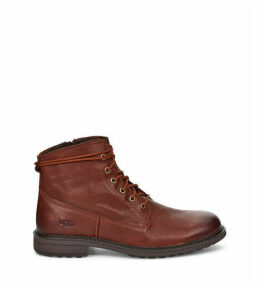 UGG Men's Morrison Lace-Up Boot in Cordovan, Size 10