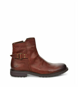 UGG Men's Morrison Pull-On Boot in Cordovan, Size 13