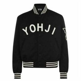 Y3 Yohji Letter Bomber Jacket