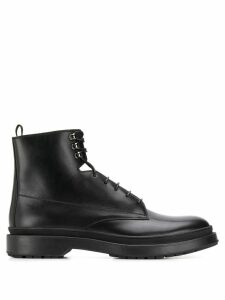 Boss Hugo Boss lace up ankle boots - Black