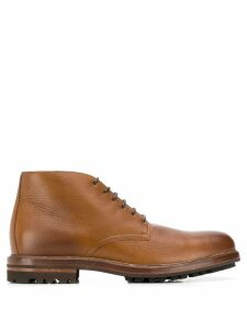 Brunello Cucinelli lace-up ankle boots - Brown