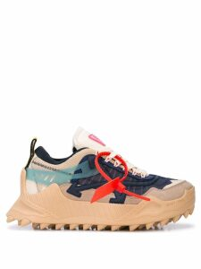 Off-White mountaineer arrow sneakers - Blue