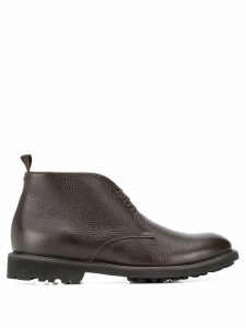 Corneliani lace up boots - Brown