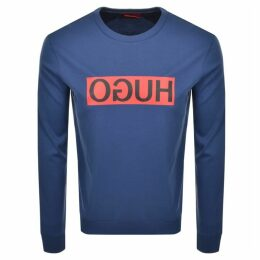 HUGO Dicago 194 Sweatshirt Blue