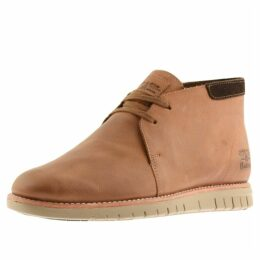 Barbour Boughton Boots Brown