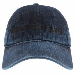 Calvin Klein Jeans Denim Logo Cap Navy