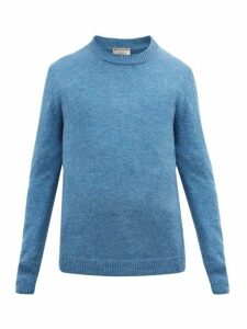 Éditions M.r - Jack Crew Neck Wool Sweater - Mens - Blue