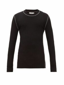 Eytys - Incubus Wide Ribbed Sweater - Mens - Black