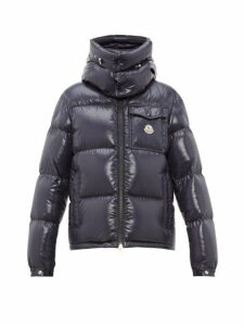 Moncler - Montbeliard Tricolour Two Way Zip Down Jacket - Mens - Navy
