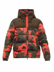 Moncler - Eymeric Camouflage Down Filled Jacket - Mens - Red Multi