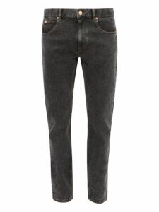Isabel Marant - Kanh Stretch Cotton Slim Leg Jeans - Mens - Black