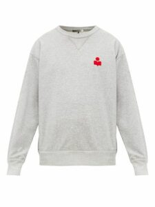 Isabel Marant - Mike Cotton Blend Sweatshirt - Mens - Dark Grey