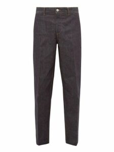 Maison Kitsuné - Cropped Jeans - Mens - Indigo
