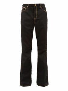Eytys - Oregon Flared Technical Twill Jeans - Mens - Black