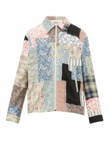 Loewe - Paisley And Floral Patchwork Cotton Blend Jacket - Mens - Multi