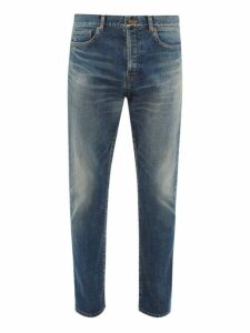 Saint Laurent - Straight Leg Jeans - Mens - Blue