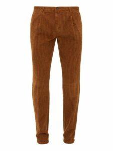 Altea - Verona Cotton Corduroy Trousers - Mens - Orange