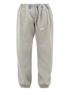 Bless - No 65 Overjogging Trackpants - Mens - Light Blue / Grey