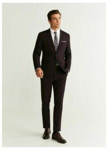 Super slim fit suit pants