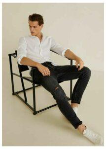Slim fit black Tim jeans