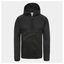 Timberland Waterproof Hooded Shell Jacket For Men In Black Black, Size XXL