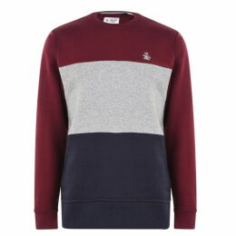 Original Penguin Block Sweatshirt