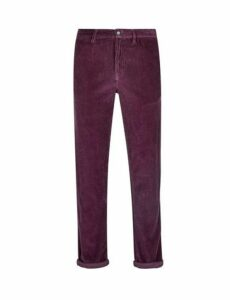 Mens 1904 Burgundy Cord Trousers*, Red