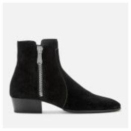 Balmain Men's Mike Suede Boots - Black