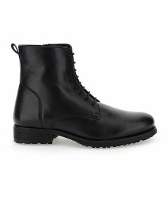Newton Leather Military Boot EW Fit