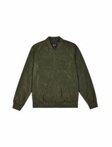 Mens Khaki Bomber Jacket, Khaki
