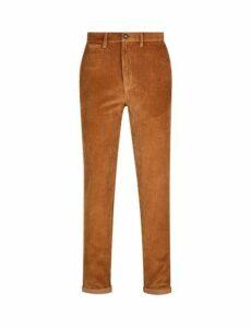 Mens 1904 Natural Cord Trousers*, Brown