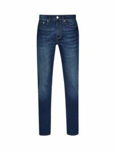 Mens Redcast Selvedge Blake Slim Fit Jeans, Blue