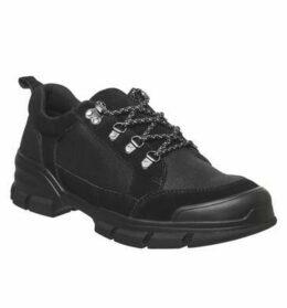 Office Carter Hiker Shoe BLACK SUEDE