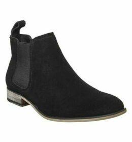 Office Barkley Chelsea Boot BLACK SUEDE