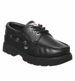 Kickers Lennon Boat Shoe BLACK