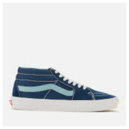 Vans Men's Sk8-Mid Retro Sport Trainers - Gibraltar Sea/Cameo Blue - UK 11