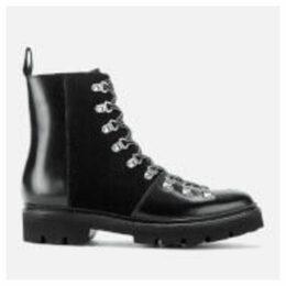 Grenson Men's Brady Leather Hiking Style Boots - Black - UK 11 - Black