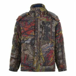 Vivienne Westwood Camo Puffer Jacket