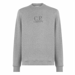CP Company Rubberised Logo Sweatshirt